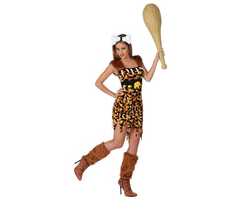 Atosa 22803–grotta signora costume, misura XL, marrone