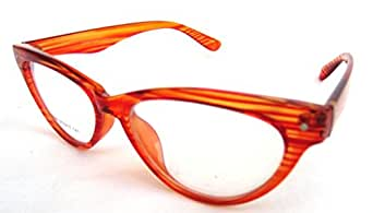 The Indigo Sky Full Rim Eyewear Frame Woman (Orange) (EYE-DP | 50)