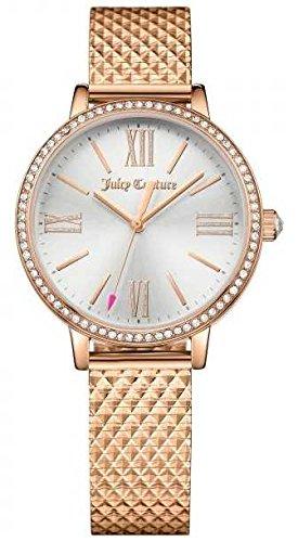 Juicy Couture Oro rosa orologio orologio Womans 1901614