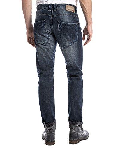 Timezone Eliaztz, Jeans Homme Bleu - Blau (urban indigo 3983)