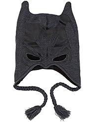 DC Comics Batman The Dark Knight I Am Batman Knit Peruvian Beanie Hat