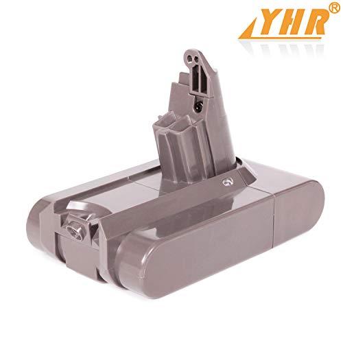Serie Li Ion Kompatible Akku (YHR Dyson V6 Akku für DC58 DC59 DC61 DC62 DC74 DC74 DC Serie 204720-01 209432-01 209472-01 209476-01 209560-01 210691-01 210692-01, Handstaubsauger Li-Ion 3000mAh 21,6 V-Ersatzakku)
