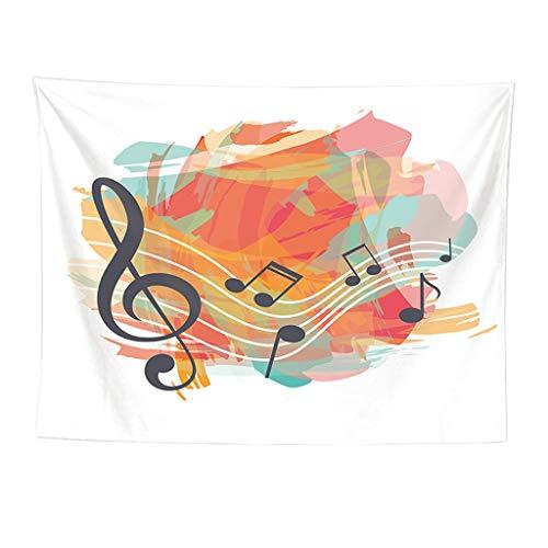 Yooshen Wanddekor Wandteppiche Stoff Mandala Tuch Wandtuch Gobelin Tapestry Goa Indien Hippie Modern Stil Dekotuch Tagesdecke Hintergründe Drucken Textilgewebe Wand Tapisserie 150x130cm (D)