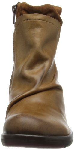 FLY London Mel, Bottes Chukka Femme Beige (Camel)