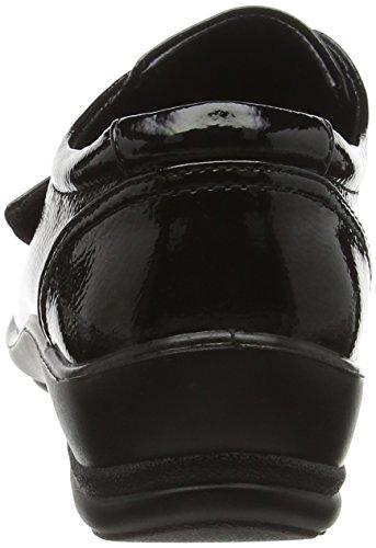 Padders Simone Damen Mokassins Black (60 Black Patent)