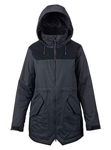 Burton Damen Prowess Jacket Snowboardjacke, True Black/True Black Cord, S