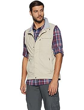 Columbia Silver Ridge Vest - Chaleco para hombre, color beige, talla XXL