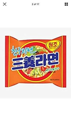Samyang brand Samyang Ramen Beef Flavor. 4.2oz package (Pack of 20)