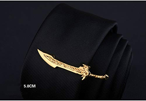 Men's Tie Clip Creative Styling Custom Business Fashion Tie Clip(G)