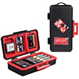 HIFFIN® D950 Battery Memory Card Protective Protector Case Box for SD CF XQD Memory Card Camera Battery AA Battery