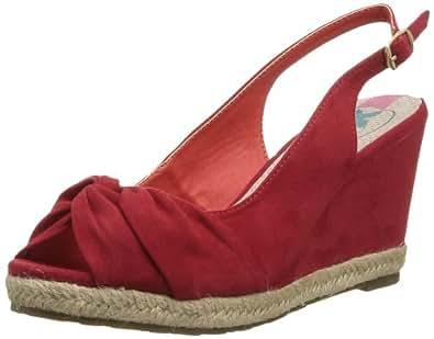 XTI 26902, Espadrilles femme - Rouge (Red), 39 EU