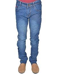 Levi's Men's Blue Stretchable Slim Fit Jeans (J30)