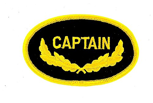 Ecusson Embroidered iron-on patch Navy Naval Aviation Captain Commander by - Captain Pilot Kostüm