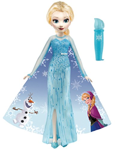 Change dress Elsa at Queen Royal Friends Doll your water of Disney Ana and snow