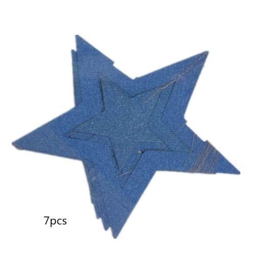 ückwunsch zum Geburtstag Glitter Bunting Bunting Banner Schwalbenschwanz Tisch Konfetti Rundes Papier Dekoration An Der Rezeption Bunting Sky Blue ()