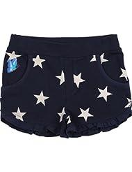 Zunstar Jane - Pantalones cortos de náutica para niña, color Azul (Navy/Sand), talla UK: Talla 110/116