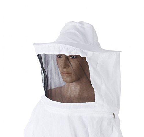 CHENGYIDA Professional Beekeeping Suit Jacket Veil Smock Dress 4