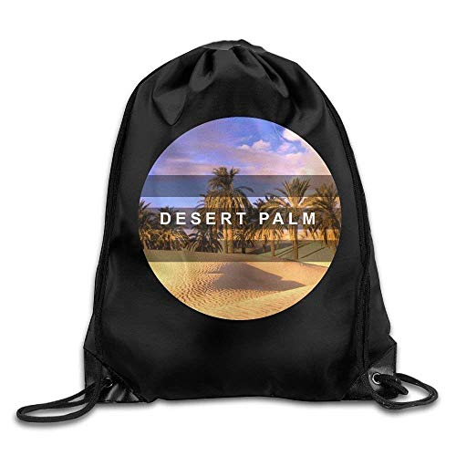 HIDFAA Kordelzug Bag Hip Hop Drawstring Backpack Desert Palm 2017 New Arrival2 Art Design Print Drawstring Backpack Rucksack Shoulder Bags Gym Bag