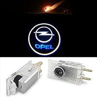 EOVVIO 2 Stück Autotür LED Logo Türbeleuchtung Einstiegsleuchte Projektion Licht