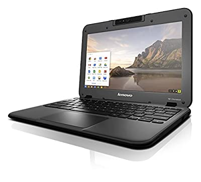 Lenovo N22 11.6 inch HD Chromebook Laptop (Intel Celeron N3060, 2 GB RAM, 32 GB EMMC, Chrome OS) - Black