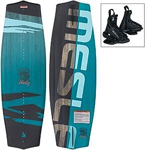 MESLE Wakeboard-Set Liberty 128 cm mit Onset Bindung Junior, Package für...