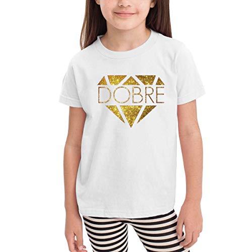 Solid-footed Sleeper Pajamas (Kinder Jungen Mädchen Shirts Dobre Brothers T Shirt Kurzarm T-Shirt Für Kleinkind Jungen Mädchen Baumwolle Sommer Weiß 4 T)
