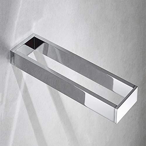 Lldd perforazione solido tutto il rame placcatura anello asciugamano montaggio a parete porta asciugamani bar cucina bagno porta asciugamani non deformato forte capacità portante