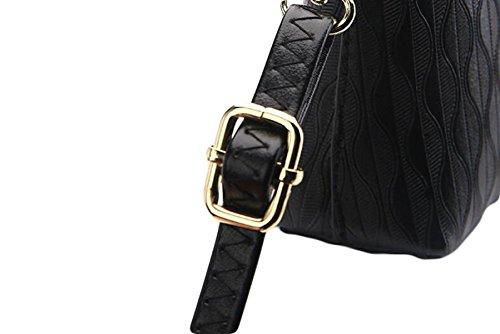 Frizione Semplice Femminile Ed Elegante Pacchetti Ad Alta Capacità Personalità Borsa A Tracolla Ms. Messenger Bag Gold