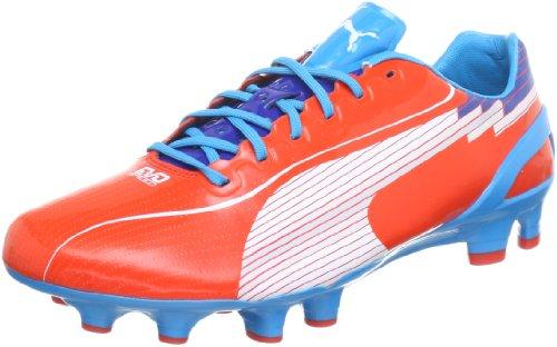 Puma Evospeed 1 Fg 102527 Herren Fußballschuhe Rot (orange.com-white-hawaiano 07)