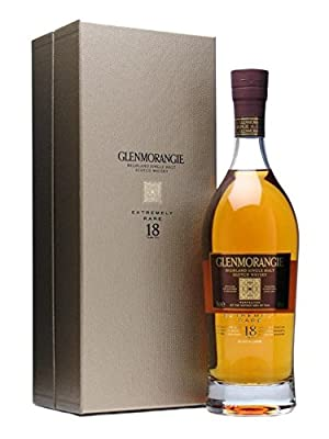 Glenmorangie 18 Year Old Extremely Rare Single Malt Scotch Whisky 70cl Bottle x 2 Pack