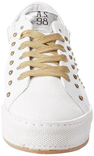 A.S.98 Damen Surrey Sneaker Weiß (Bianco)