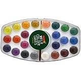 Camlin Kokuyo Water Color Cake 24 Shade Plastic Box