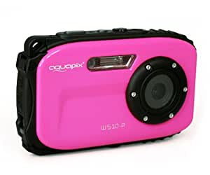 Aquapix 12000 W510-P Unterwasserkamera (6,9 cm (2,7 Zoll) LTPS-Display, 5 Megapixel CMOS Sensor, 640x480 VGA) neon pink