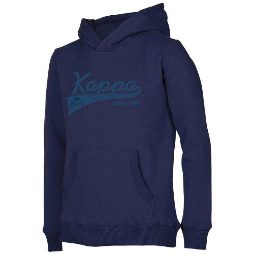 Kappa, Felpa con cappuccio, Blu (Eclipse), M