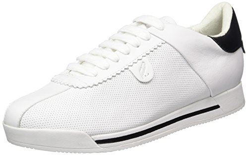 Geox D Chewa A, Sneakers Basses Femme Blanc (Whitec1000)