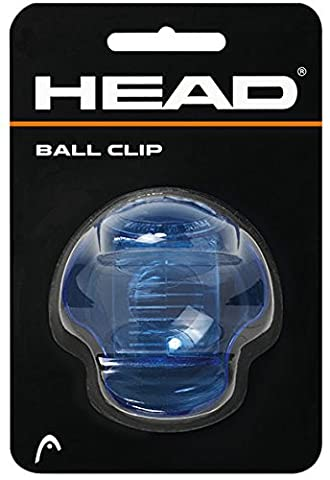 Head Clip Balle de tennis porte-pince transparente bleu