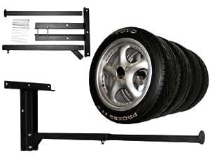 felgenbaum reifenhalter wandhalterung reifenst nder reifenregal reifen auto. Black Bedroom Furniture Sets. Home Design Ideas