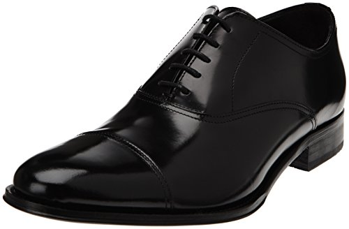 Florsheim - Victor 50883_Noir (Black Brush Off) Uomo, Nero (Schwarz (Noir (Black Brush Off))), 41.5