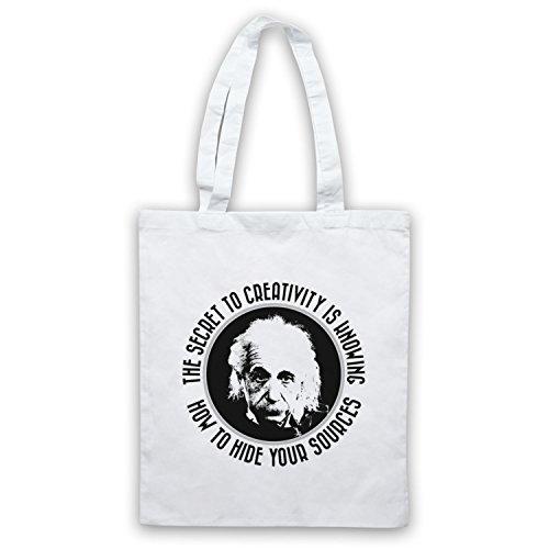 Albert Einstein Segreto Per Creatività Mantelle Bianche