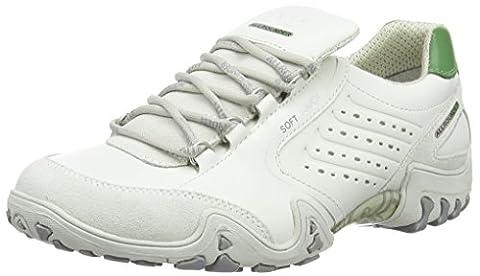 Allrounder by Mephisto Fedora, Chaussures de Randonnée Basses femme, Blanc (30/S 30 White), 37 EU