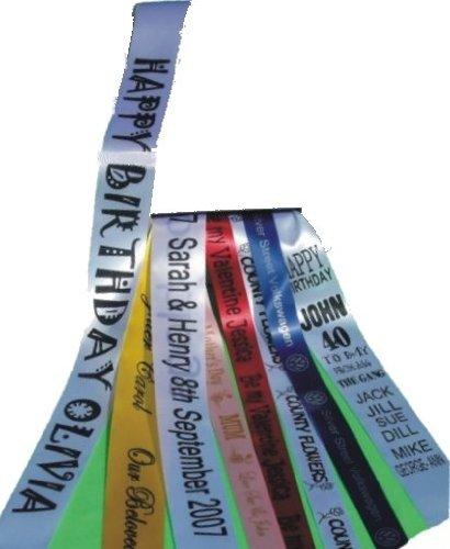 Banda cumpleaños personalizable 100mm x 2m cumpleaños