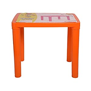 Cello Scholar Two Seat Senior Study/Play Table for Kids from 3-10 Years(Orange)