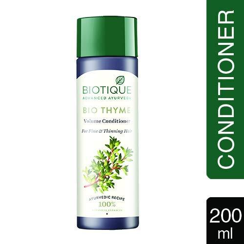 Biotique Bio Thymian Frisch Sparkle Volume Conditioner, 200 ml - Sparkle Whitening