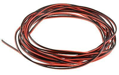 5m-2-pin-red-black-22awg-bonded-wire-rc-led-strip