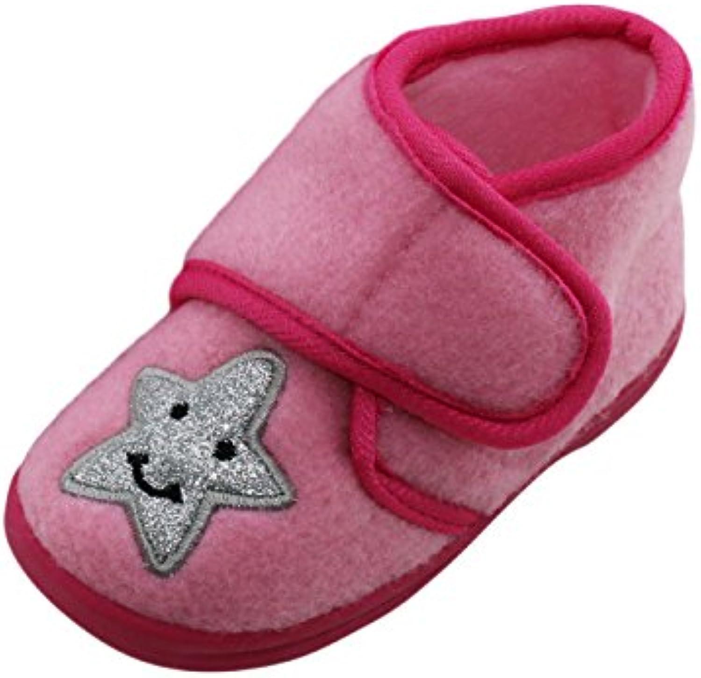 brandsseller - Zapatillas de estar por casa de Material Sintético para mujer, color rosa, talla 28
