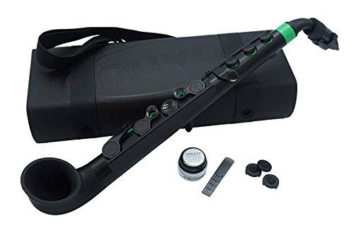 Nuvo Instrumental n510jbgn negro con verde trim jsax