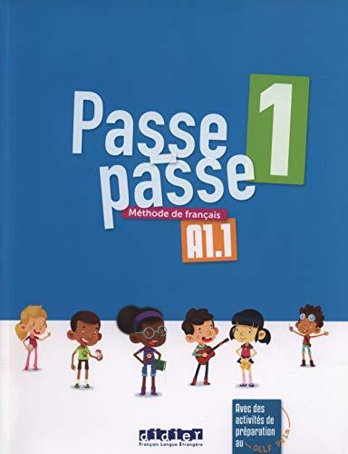 Passe - Passe 1 - Livre por Catherine Adam