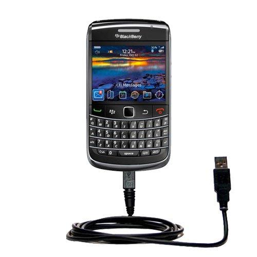 Klassisches Direkt-USB-Kabel für Blackberry Onyx III mit Power Hot-Sync und Ladekapazitäten Verwendet die TipExchange Technologie