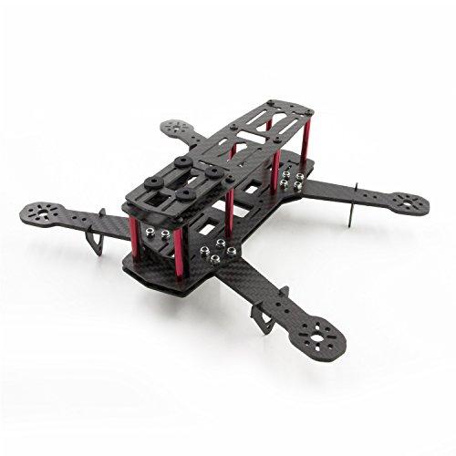 SAVFY® Mini Quadcopter 250mm 100% Pure 3K Carbon Frame Kit 250 FPV Quadcopter Rahmen