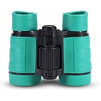 Binoculares Telescopio para niños Juguete Telescopio de Observación de Aves(Verde)